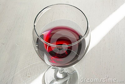 Glassof red wine