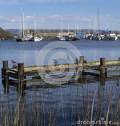 Glasson Dock - Lancashire - England