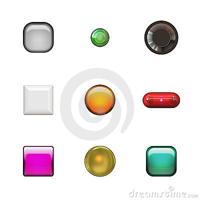 Glassy Buttons Variety Pack