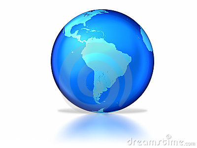 Glassy earth