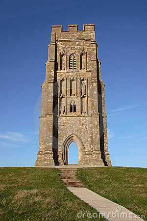 Glastonbury Tor Church Tower