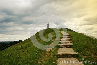 Glastonbury - Tor, England, United Kingdom