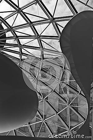 Glazed canopy