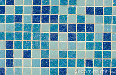 Glazed tile background