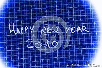 Glückliches neues Jahr 2010