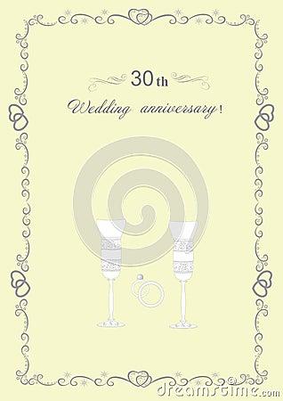 Glückwünsche zum Hochzeitstag mit 30 Jahrestagen und zu ersteigbaren ...