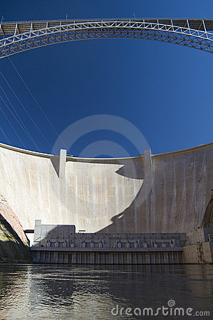Free Glen Canyon Dam, Page, Arizona Royalty Free Stock Photo - 564725