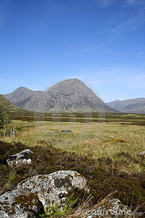 Glen coe pass scottish highlands landscape