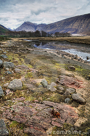 Glen Etive, Hidden Valley, Scotland, UK