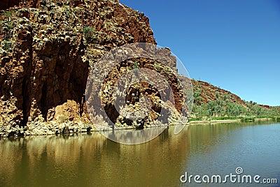 Glen Helen Gorge, Australia