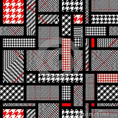 Free Glen Plaid Pattern. Stock Image - 111329851