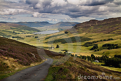 Glen Quaich Scotland