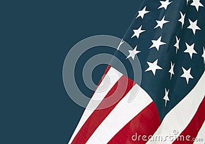 Gli Stati Uniti Star le bandierine Spangled