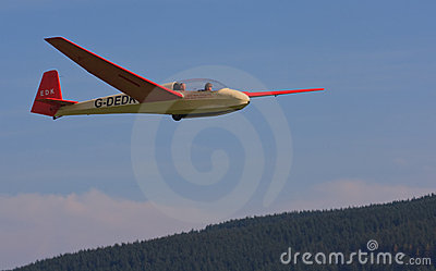 Glider pilot training Editorial Photo