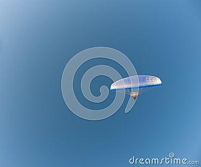 Glider in sky