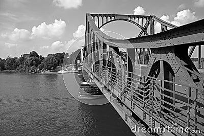 Glienicke bridge #4 B&W