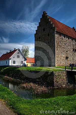 Free Glimmingehus Castle HDR 02 Stock Photography - 14495432