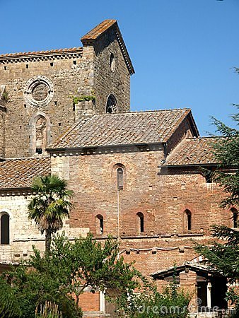 Glimspe of San Galgano abbey