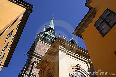 Église allemande dans Gamla Stan Stockholm