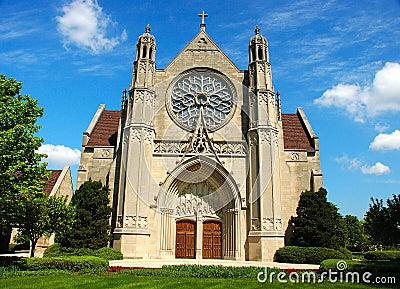 Glise D 39 Architecture Gothique Photographie Stock Image