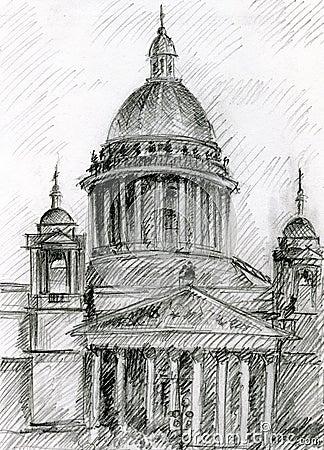 Église à St Petersburg
