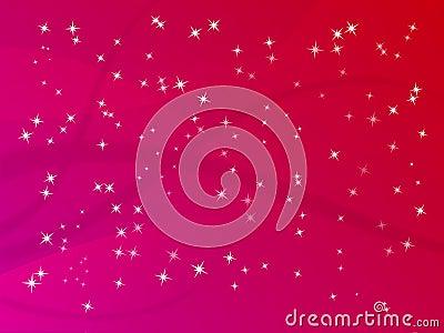 Glitter Star Background