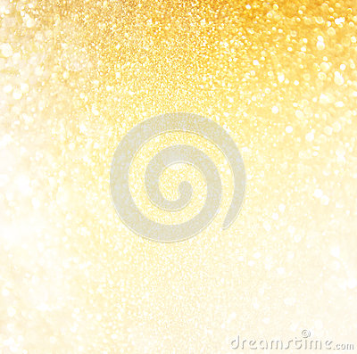 Free Glitter Vintage Lights Background. Abstract Gold Background . Defocused. Royalty Free Stock Photography - 45266837