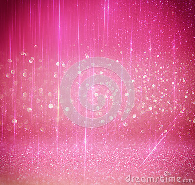 Free Glitter Vintage Lights Background. Light Silver, And Pink. Defocused. Royalty Free Stock Photos - 64780108