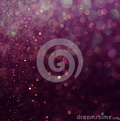 Free Glitter Vintage Lights Background. White And Purple. Defocused Royalty Free Stock Image - 41764536