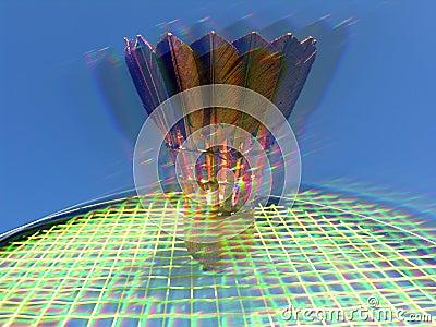 Glittering Badminton