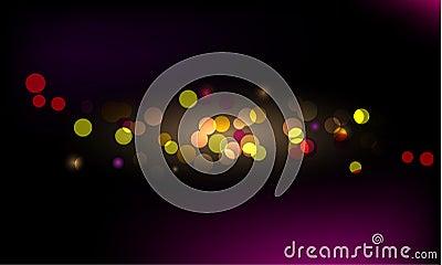 Glittering light background