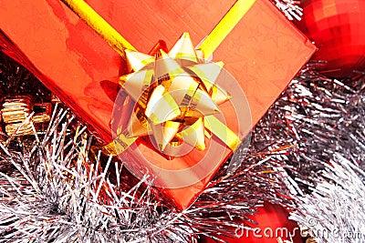 Glittering present