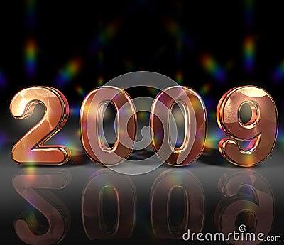 Glittering year 2009