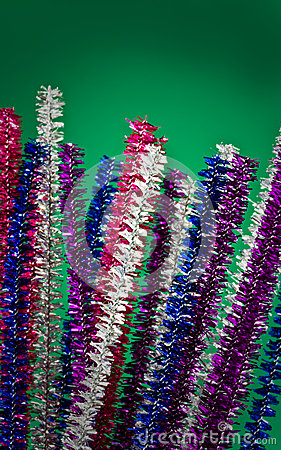 Glittery kulört leda i rör rengöringsmedel