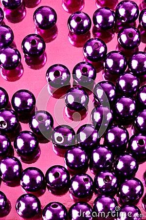 Glänzende Perlen
