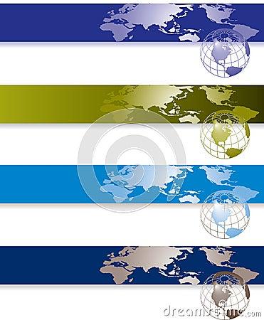 Global banners