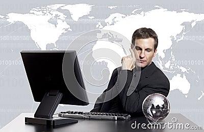 Global business exec