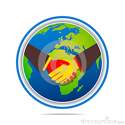 Global business relation design stock vector image 47556535 for Global design company