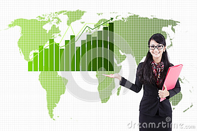 Global Business Statistics Stock Photography - Image: 25508682