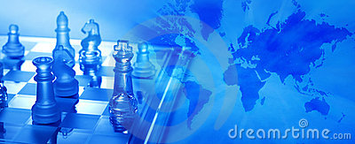 Global Business Strategy Chess Royalty Free Stock Photography - Image: 12002407