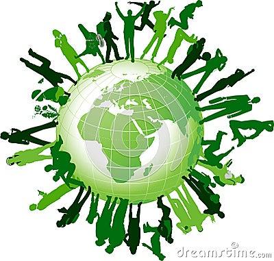Global community.