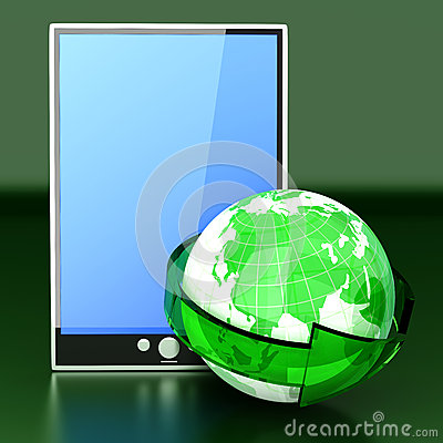 Global connected Tablet PC