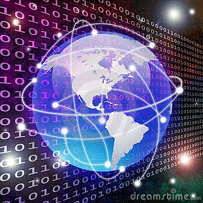 Global connection and data transfer
