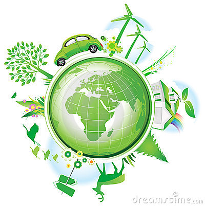 Global Conservation Concept.