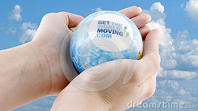 THE GLOBAL CORPORATE CHALLENGE Editorial Stock Image
