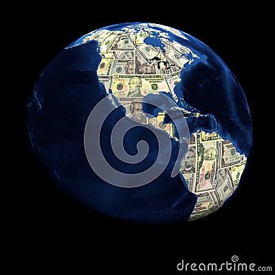 Global currency dollars