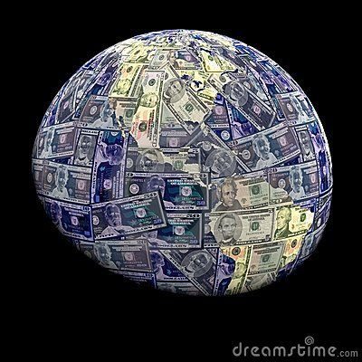 Global currency dollars