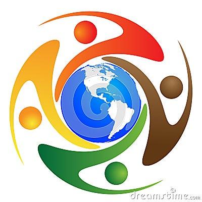 Global diversity Vector Illustration