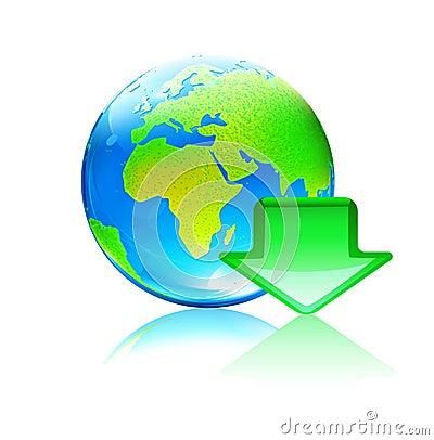 Global download concept