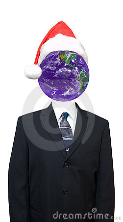 Global Economy, World Business, Going Green, Xmas